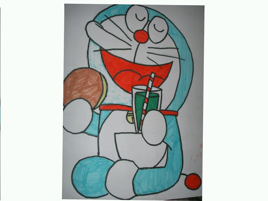 美术绘画作品展示二_盐城市明达中学图片